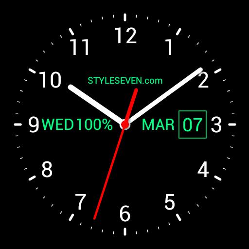 Analog Clock Live Wallpaper-7 App for Windows 10