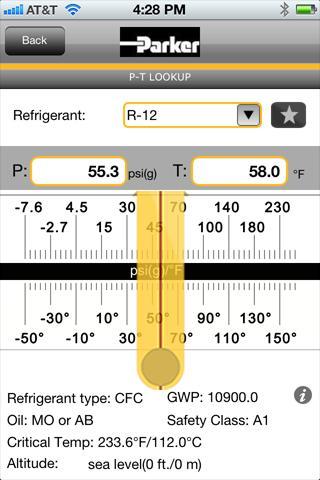 ChillMaster P-T Chart 1.4 screenshots 1