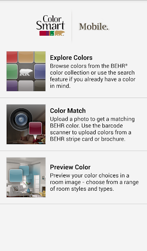 ColorSmart by BEHR Mobile 2.2.10 screenshots 1