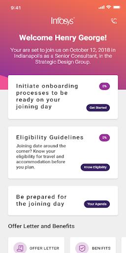Infosys Launchpad Global 2.0.35 screenshots 2