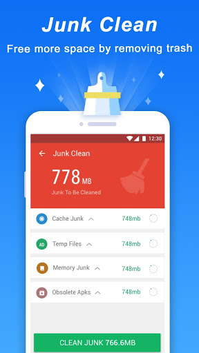 Turbo Cleaner Antivirus Clean and Booster 2.0 screenshots 1