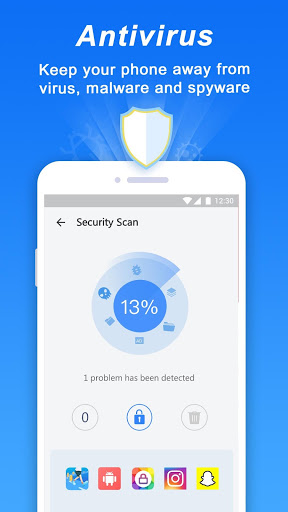 Turbo Cleaner Antivirus Clean and Booster 2.0 screenshots 2